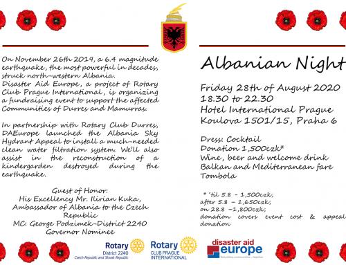 Albanian Night/Albanska noc