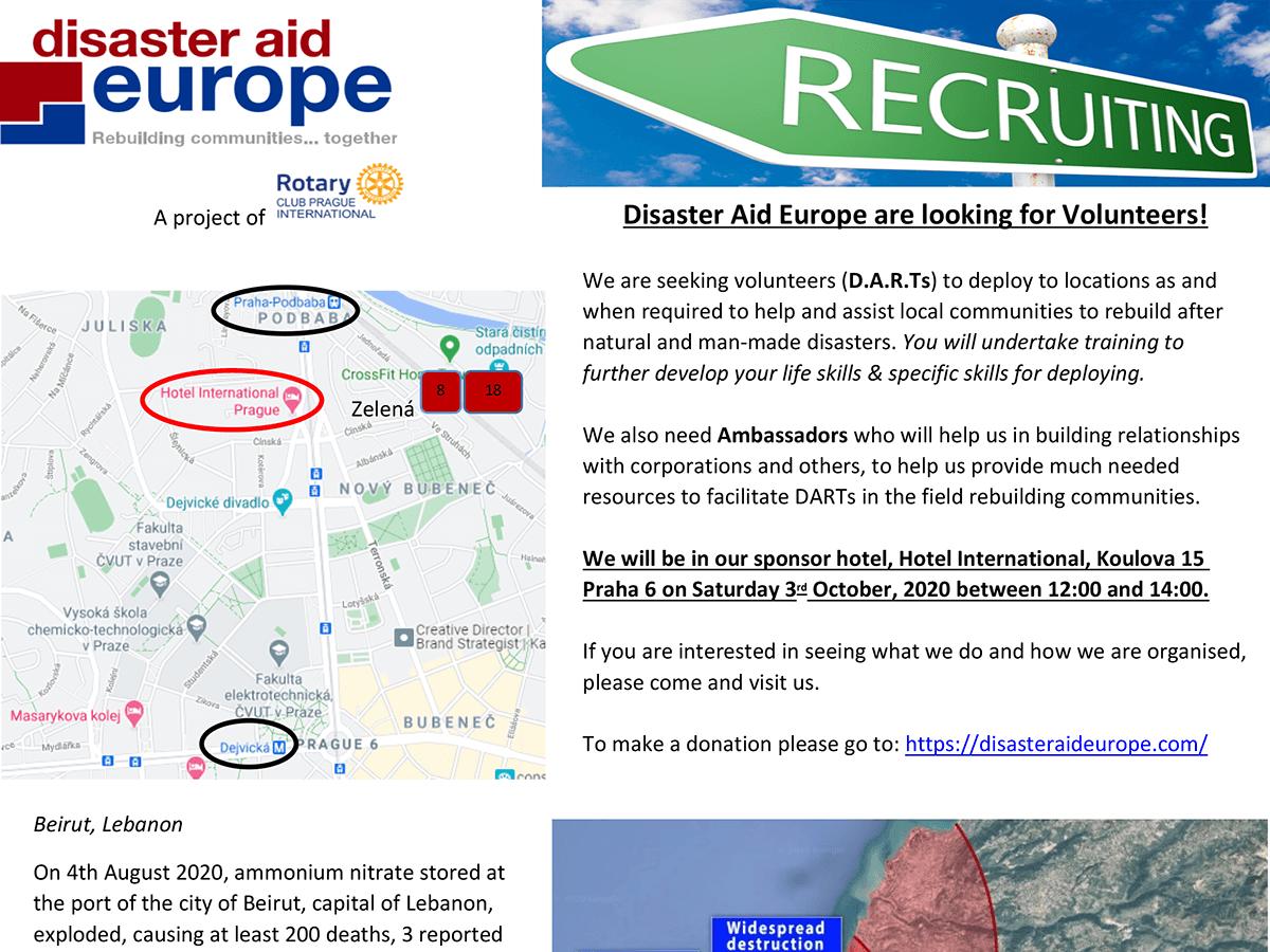 DAE Recruitment Flyer