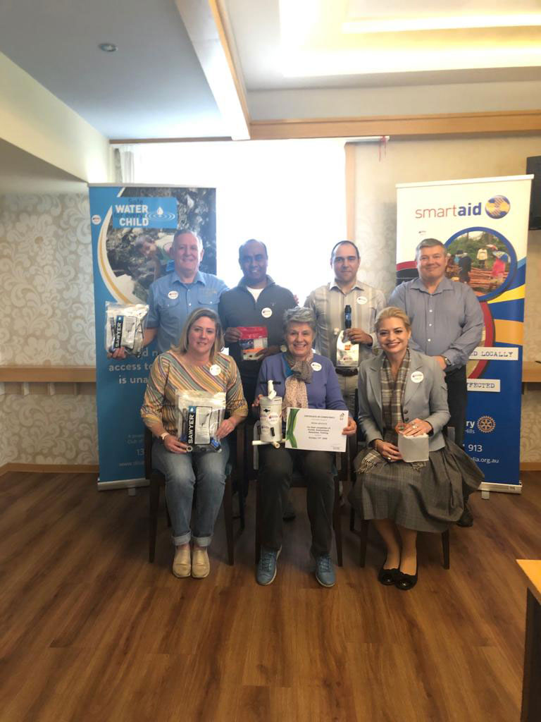 9 DARTs were trained (Disaster Aid Reponse Team members) 9-11th October with 2 via zoom