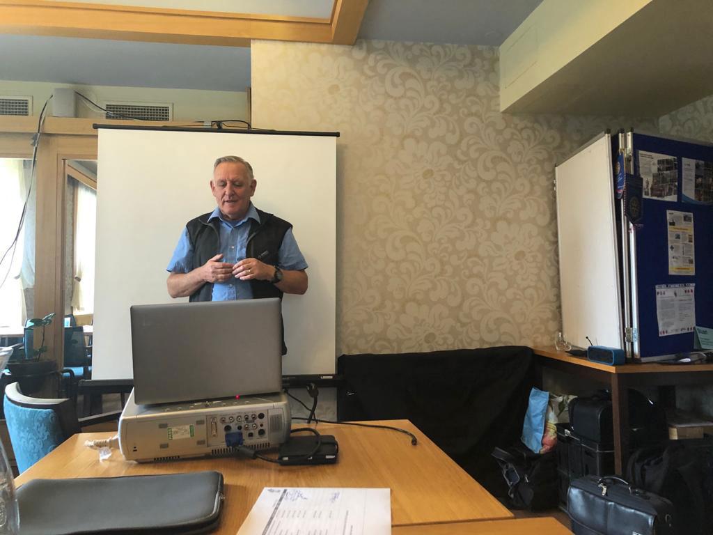 Stuart Amesbury at DART Training