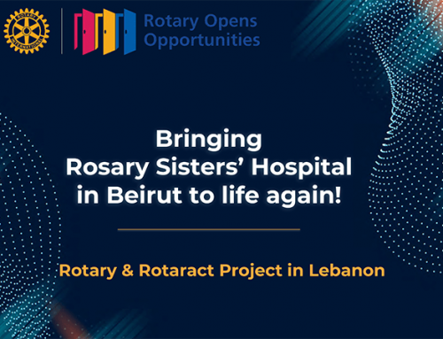 Bringing Rosary Sisters' Hospital in Beirut to life again!