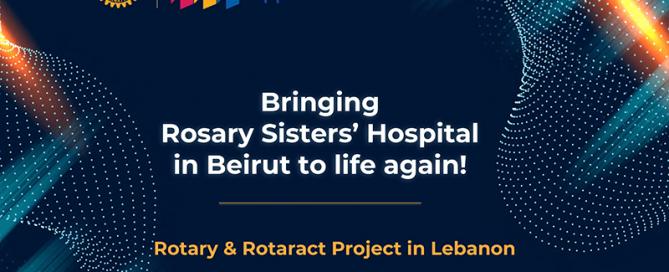Sky Hydrant installed Rosary Sisters Hospital